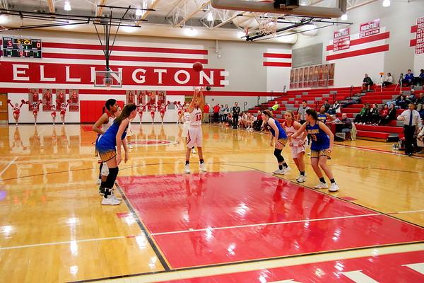 WHS Girls Basketball vs Collegiate 010918