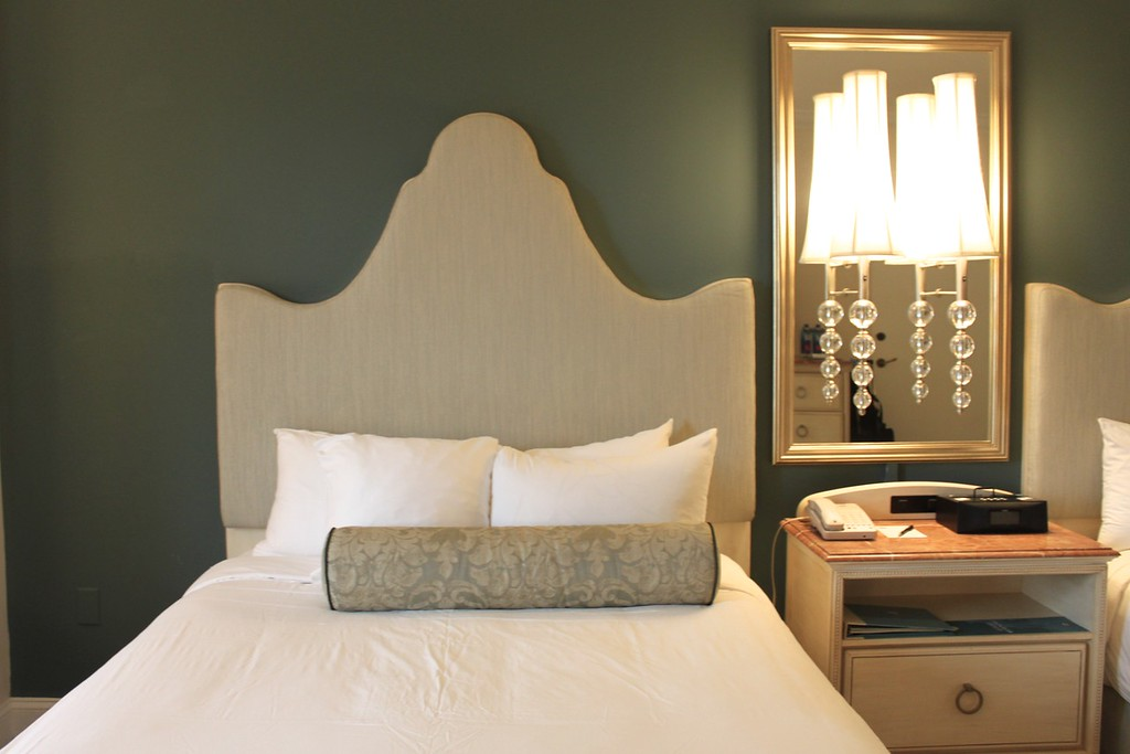 Bed at Loews Portofino Bay