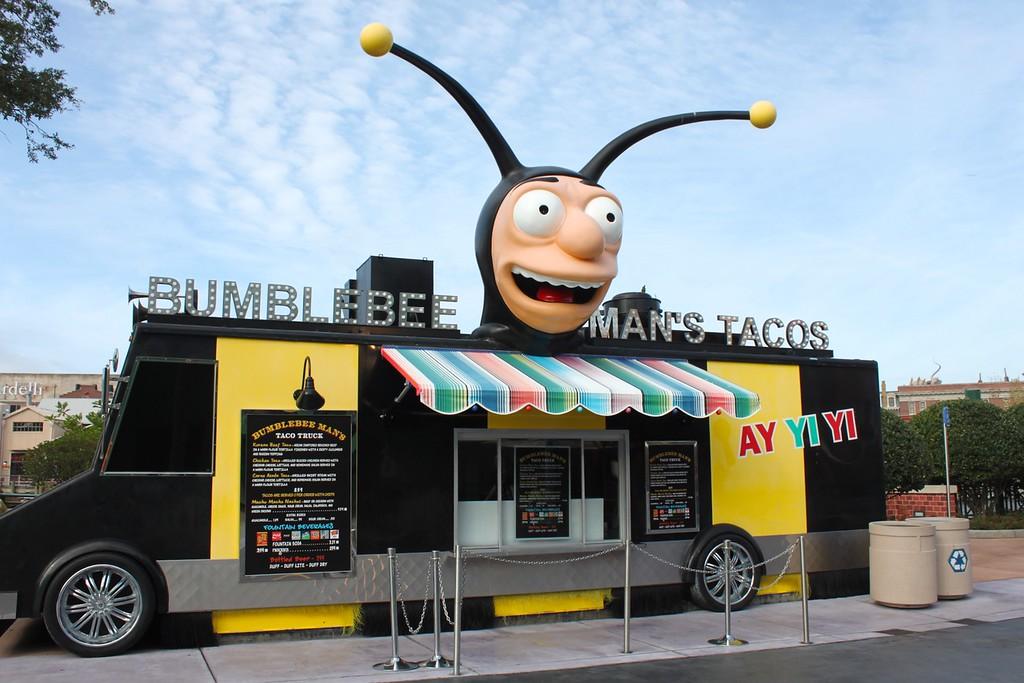Bumblebee Man's Tacos at Universal