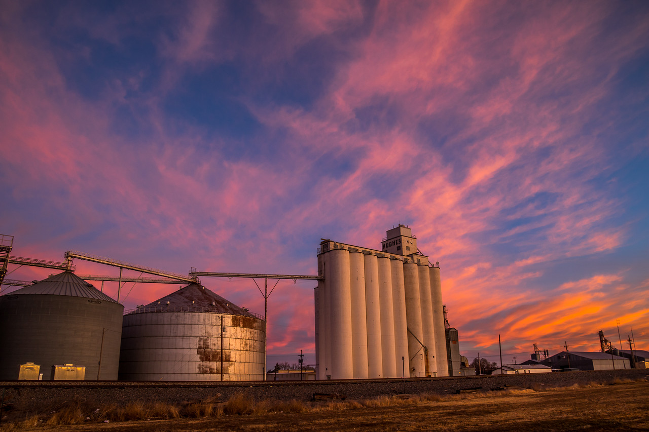 Grain Elevator, Panhandle Texas