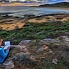 """""""Doe Sketching at the Mouth of Margaret River, WA."""""""