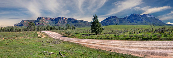 """The Hills of Arkaba, Flinders Ranges, South Australia."""