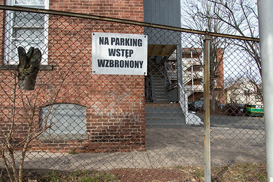 01/28/19  Wesley Bunnell | Staff  No parking signs at the Pulaski Democratic Club located at 89 Grove St.
