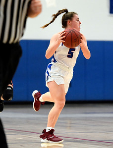 1/11/2019 Mike Orazzi | Staff St. Paul's Emma Cretella (5) Friday night in Bristol against Watertown