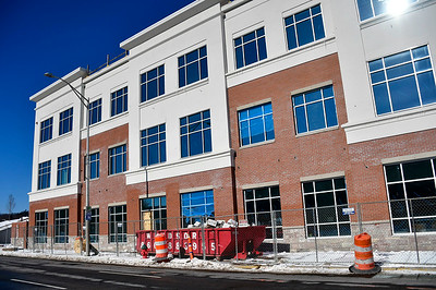 1/31/2019 Mike Orazzi | Staff The Bristol Hospital Medical Care building on Main Street in downtown Bristol.