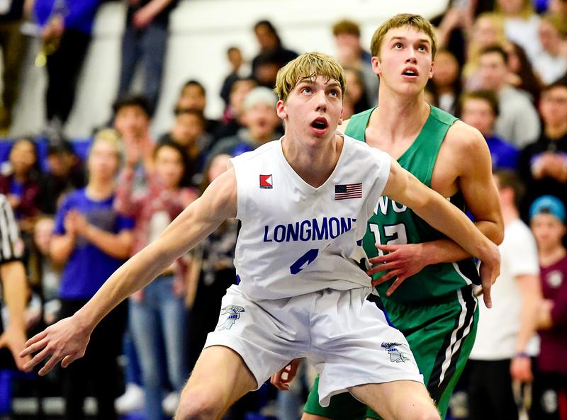 Longmont Vs. Niwot Boys Basketball