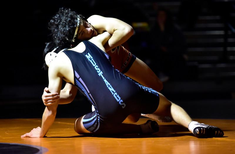 Mead vs Mountain Range Wrestling