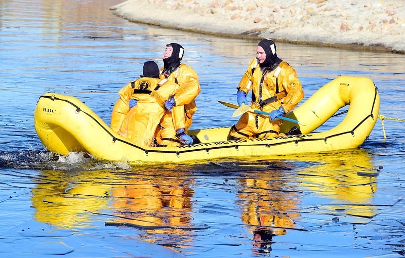 North Metro Ice Rescue Training