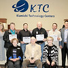 SUBMITTED PHOTO |<br /> January is School Board Recognition Month and an opportunity for local schools and technology centers to honor Oklahoma's more than 2,700 elected school board members for their dedication to students and communities. The Kiamichi Technology Centers Board of Education was honored at their January meeting and was presented certificates and service awards. The men and women serving the KTC District and their years of service are Dr. Phil Chitwood (18 years), Larry Culwell (10 years), Mary Curtis (11 years), Neal Hawkins (1 year), Ernie Taylor (3 years), Brock Whittington (1 year) and Bobbie Wilson (21 years).
