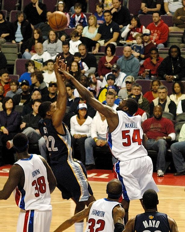 3/15/09 Detroit Pistons vs. Memphis Grizzlies