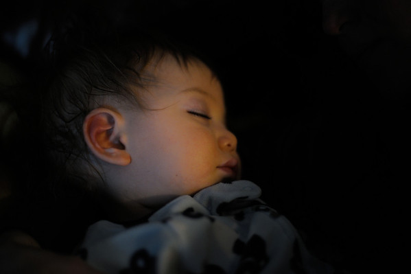 2/16/12 Micah sleeping