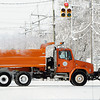 THB photo/John P. Cleary<br /> An Anderson city plow runs along south Madison Ave. keeping the main roads clear of blowing snow.