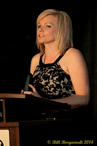 Marcie Hanson - Industry Person of the Year Presenter - 2014 ACMAs