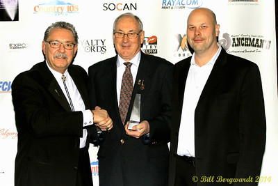 Honourable Gene Zwozdesky, R Harlan Smith, Rob Smith - 2014 ACMAs