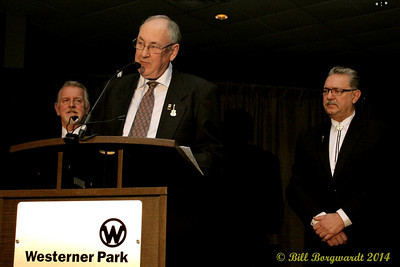 Ed Harris, R Harlan Smith, Gene Zwozdesky - Hall of Fame Induction Acceptance - 2014 ACMAs