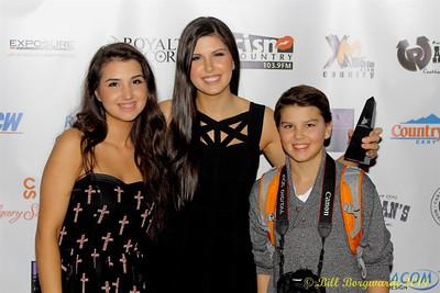 Lauren, Alee & Ross Adamoski - 2014 ACMAs