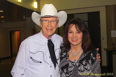 Alfie Myhre & Myrna Lorrie - Alberta Legends 2014