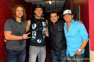 Cory Marquardt, Dan Arnold, Jordan Pritchett, Aaron Pritchett - Outlaws & Outsiders at Cook County Saloon