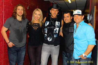 Cory Marquardt, Chelsea Bird, Dan Arnold, Jordan Pritchett, Aaron Pritchett - Outlaws & Outsiders at Cook County Saloon