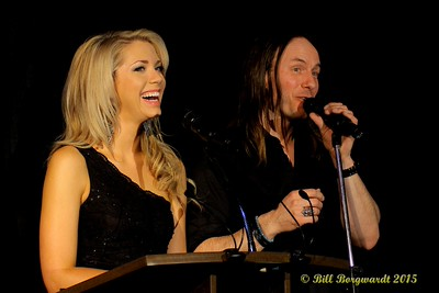 Chelsea Bird & Clayton Bellamy from CISN - Award Show Hosts - ACMA Awards Show 2015