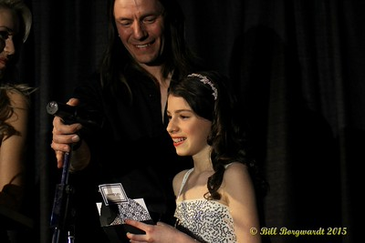 Hailey Benedict - Fans Choice Award - ACMA Awards Show 2015