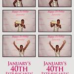 January's 40th Birthday