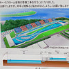 Arena for Canoe slalom in Olymoic games 2020 in Kasai park under construktion in May 2019