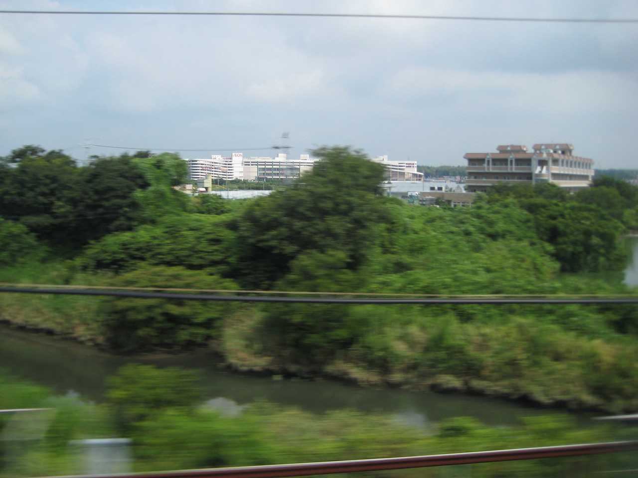 If you look at the map above, these are a few photos taken about mid-way through the trip, right arown Hamamatsu