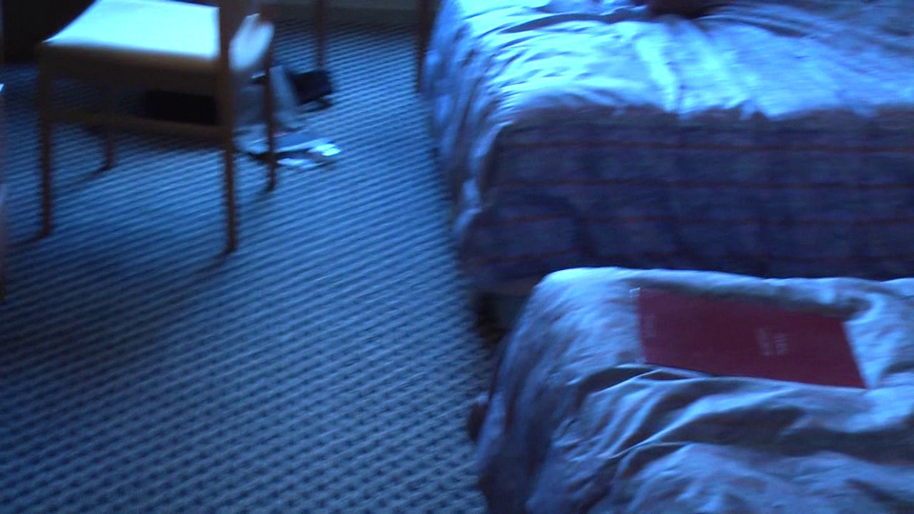 """We finally checked into our room. The hotel offered only cabled Ethernet so I set up my laptop as a wireless access point so we could connect via our handhelds. This let us check our email, text chat, etc. Despite our plans to sample the Kyoto nightlife, we once again crashed and burned early due to the jetlag. And once again we woke up around 2 AM hungry so we walked down to the vending machine restaurant to have a late night meal.<br /> <br /> Click here to move on to our first tour day in Kyoto:<br />  <a href=""""http://phoenixanime.org/Japan-2008/Our-first-day-in-Kyoto/"""">http://phoenixanime.org/Japan-2008/Our-first-day-in-Kyoto/</a>"""