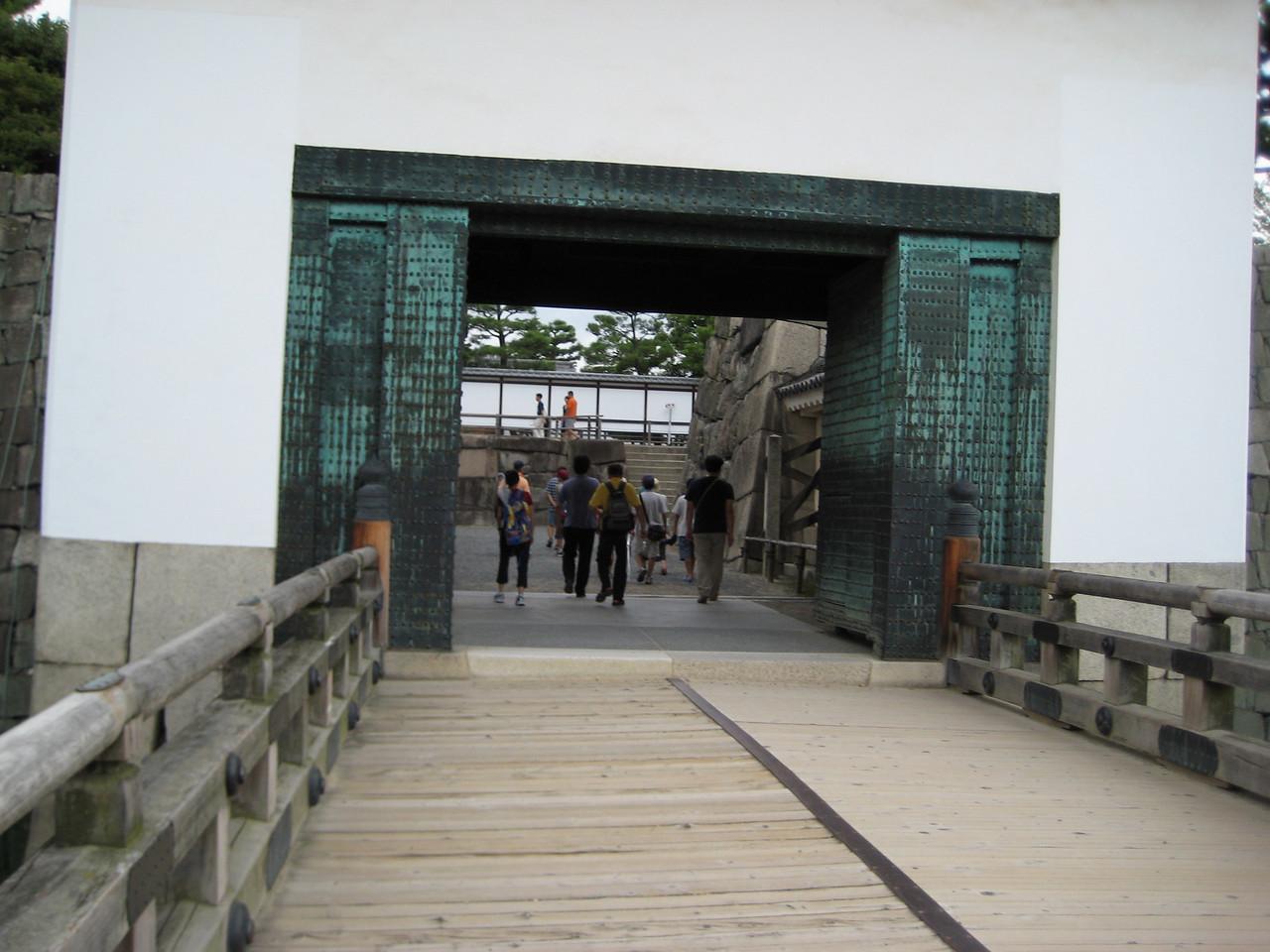 The Honmaru Turret Gate leading into the Honmaru Palace complex