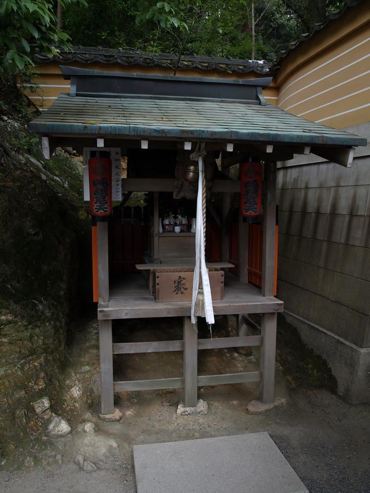 We pass a small shrine