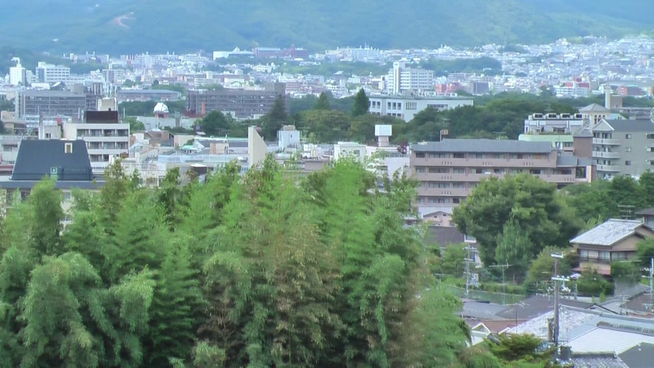 A minute and a half video of Kyoto