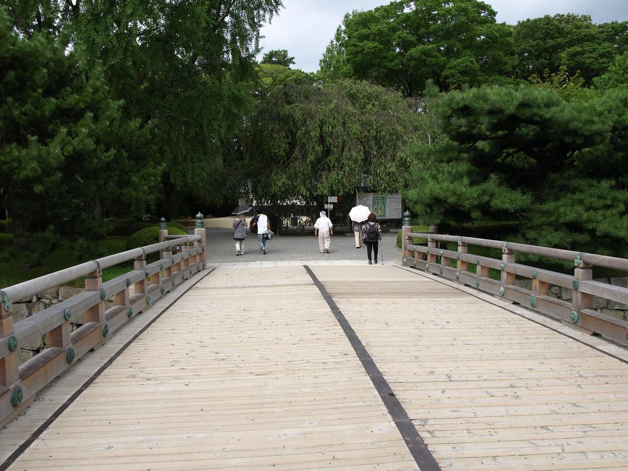 Crossing the West Bridge