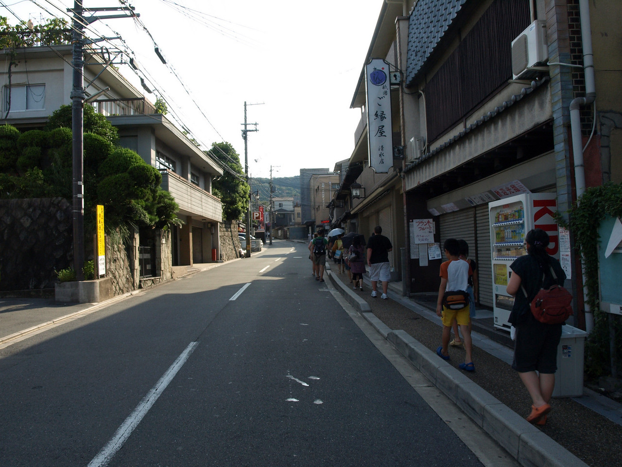 With our spiritual journey in mind, the bus dropped us off at the Gojizaka stop at 8 in the morning and we started on our way. Because we were still waking up extremely early due to the time change, we were wide awake and eager to see what Kyoto had in store for us.