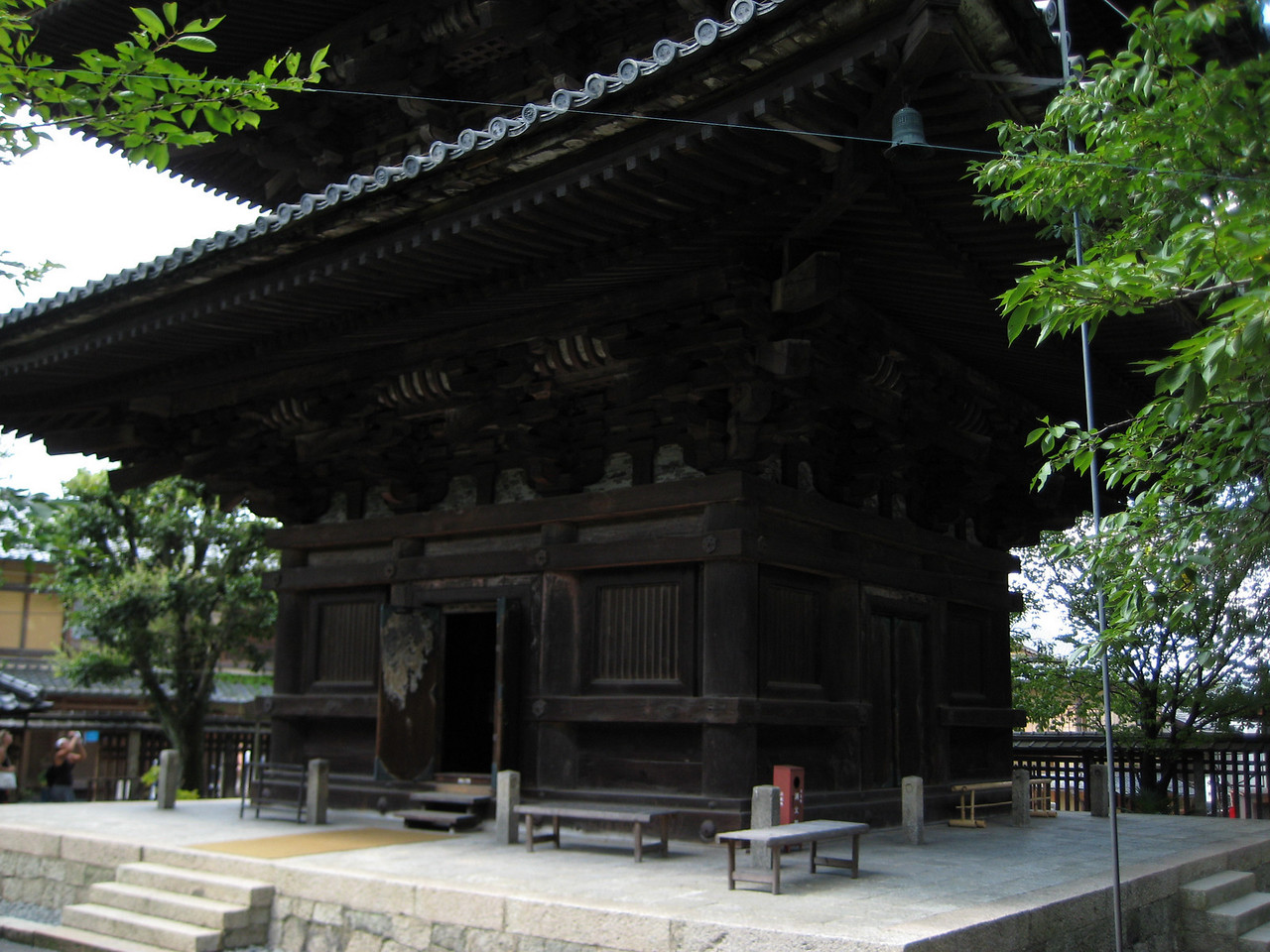 The entrance to the pagoda