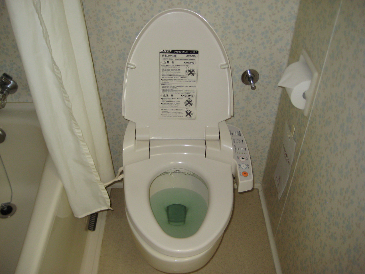The infamous Japanese toilet seat
