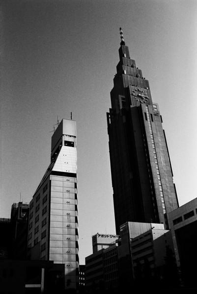 Tokyo, Shinjuku <br /> <br /> The Docomo...<br /> <br /> May 2008 <br /> Tri-X 400