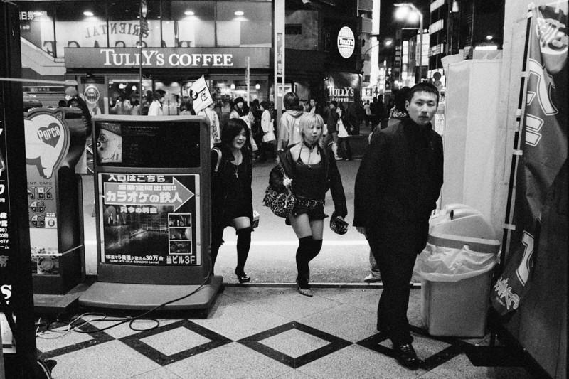 Tokyo, Kabuki-chou <br /> <br /> March 2008<br /> Ilford Delta 3200