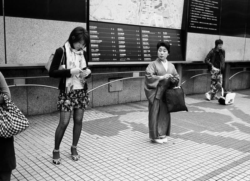 Tokyo, Shibuya<br /> <br /> April 2008<br /> Kodak Tri-X 400, EI 800