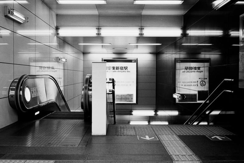 Tokyo, Shinjuku <br /> <br /> April 2008<br /> Tri-X 400, EI 800