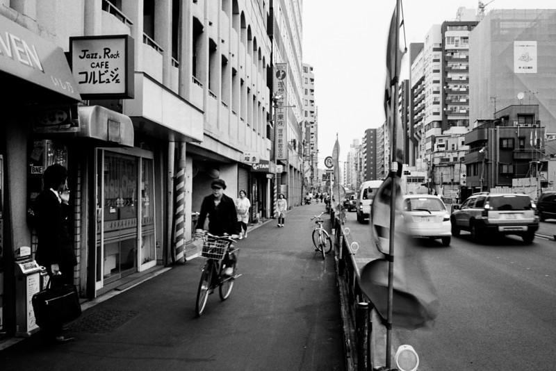 Tokyo, Okubo <br /> <br /> April 2008 <br /> Tri-X 400, EI 800