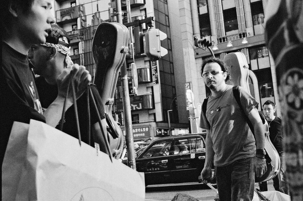 Tokyo, Shinjuku<br /> August 2008<br /> <br /> Ilford Delta 3200