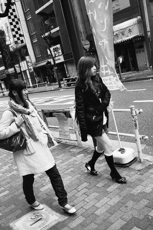 Tokyo, Kabuki-chou<br /> March 2008<br /> <br /> Ilford Delta 3200