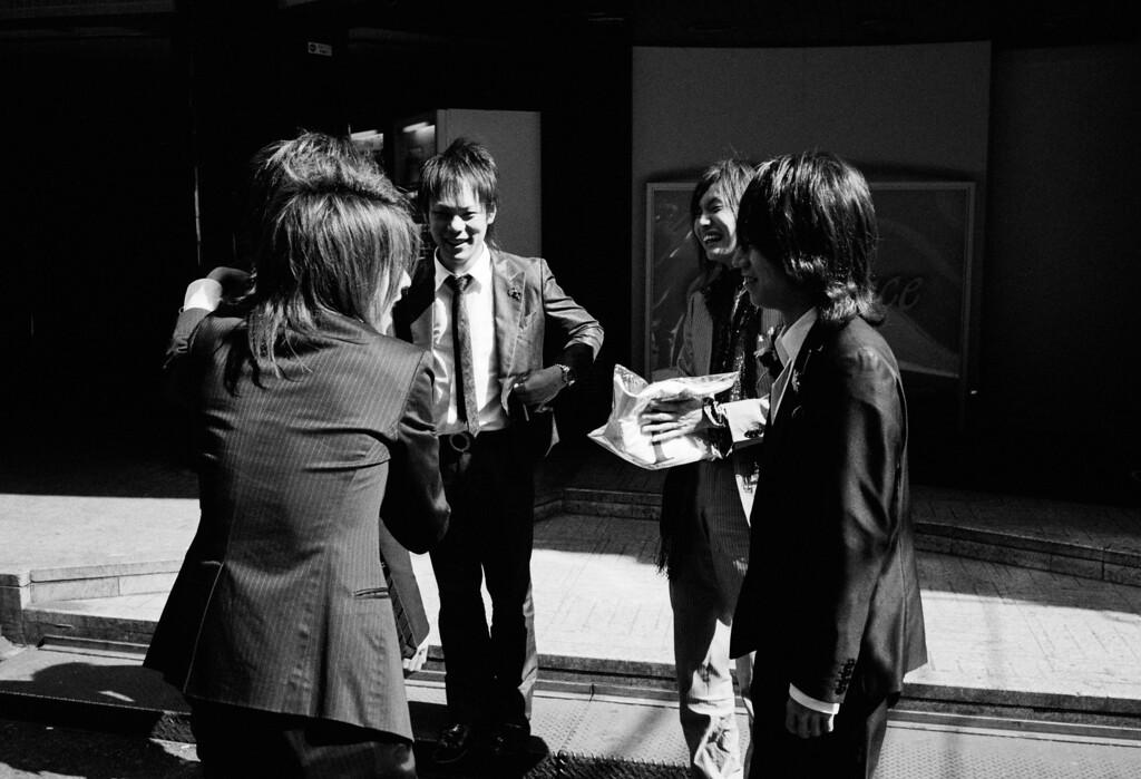 Red-light Employees...<br /> <br /> Tokyo, Kabuki-chou <br /> March 2008<br /> Kodak Tri-X 400, EI 800