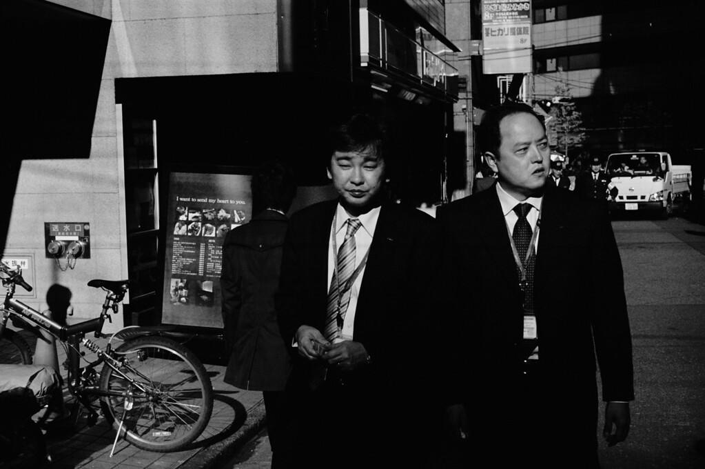 Tokyo, West Shinjuku <br /> December 2008 <br /> <br /> Tri-X iiif