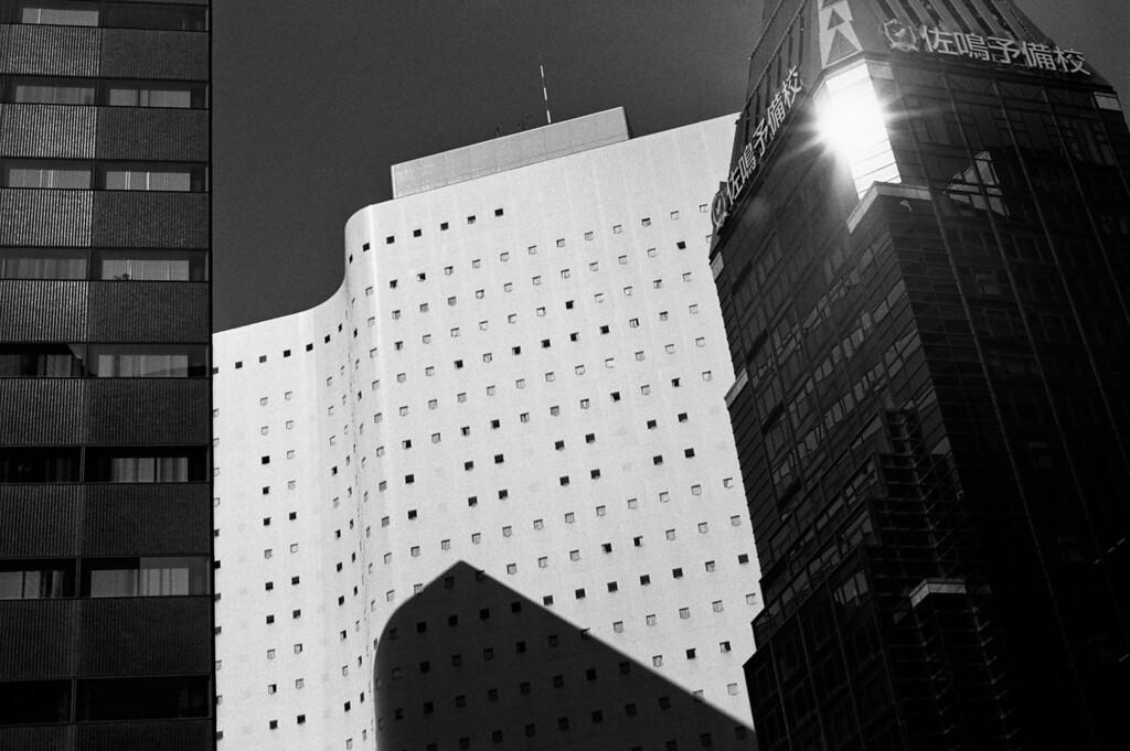 Tokyo, West Shinjuku <br /> October 2008 <br /> <br /> Tri-X 800 FM2