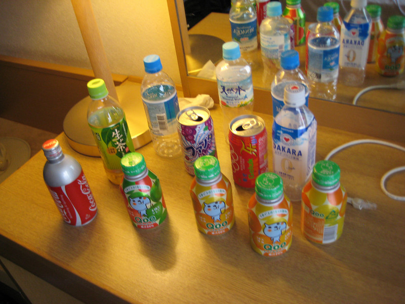The carnage<br /> <br /> (Please come back in a month or so as I will be posting our further adventures to Miyajima and Mount Fuji.)
