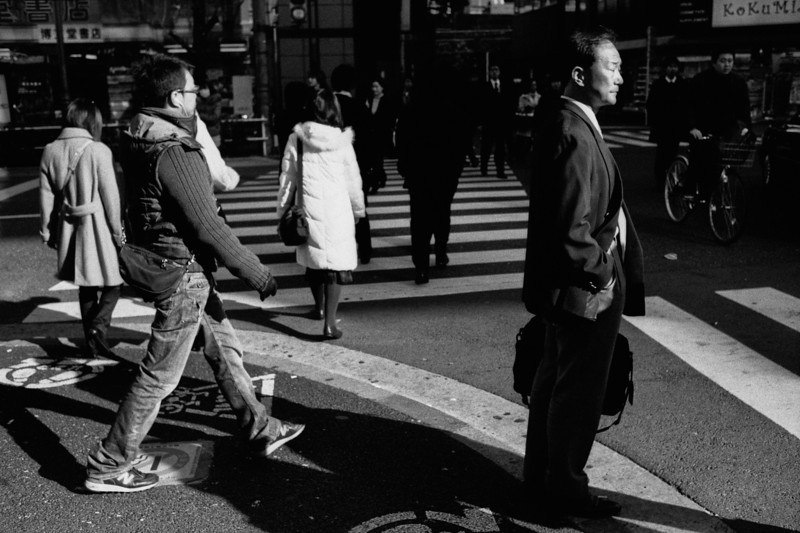 Tokyo, Nishi-Shinjuku <br /> December 2008 <br /> <br /> Fuji Neopan Super Presto 1600, 7NE