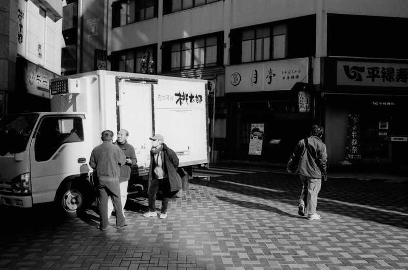 Tokyo, Ikebukuro <br /> December 2008 <br /> <br /> Fuji Neopan Super Presto 1600, 7NE