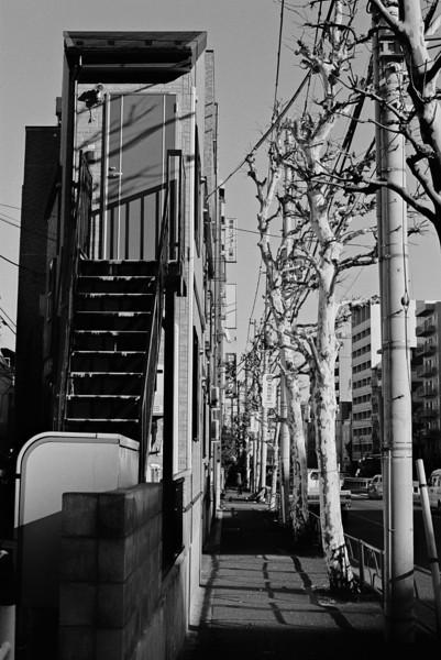 Tokyo, Shimo-ochai <br /> December 2008 <br /> <br /> Kodak Tri-X 400, FM2